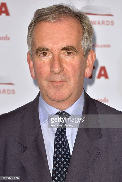 author Robert Harris attends the Costa Book of the Year award at Quaglinos on January 27 2015 in London England
