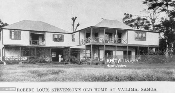 Author Robert Louis Stevenson's home at Vailima Samoa