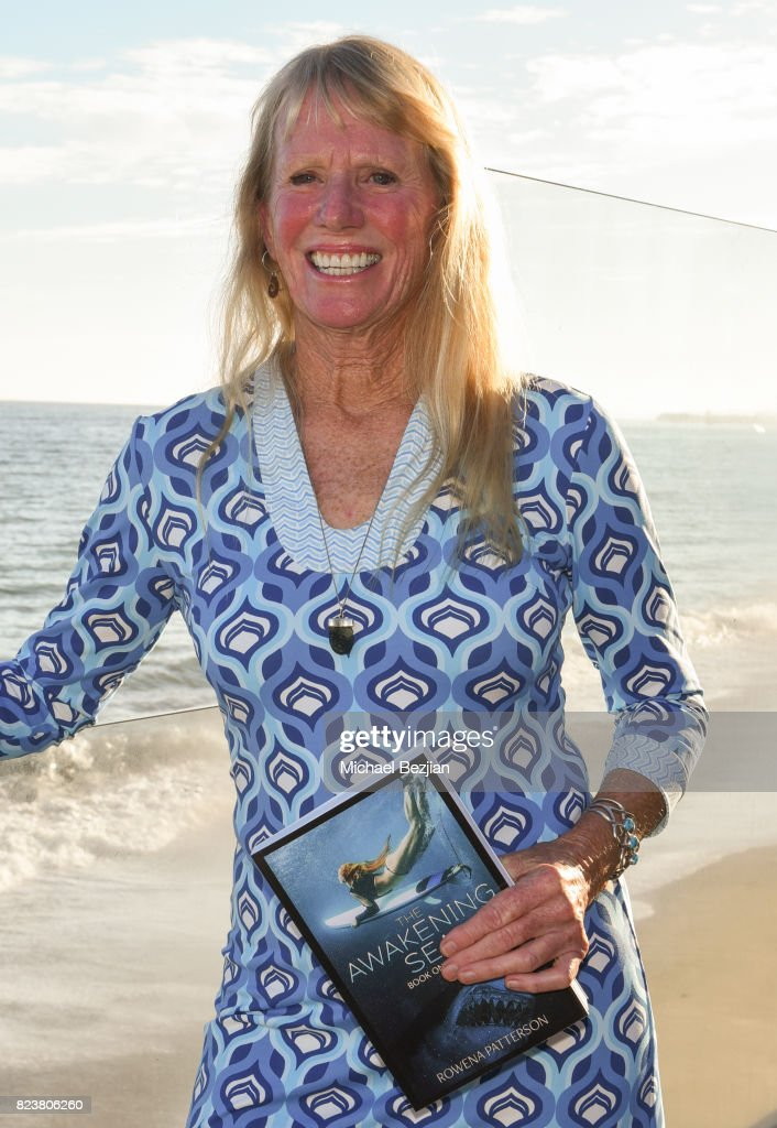 Author Rowena Patterson at 'The Awakening Sea' Launch Party By Rowena Patterson on July 27, 2017 in Malibu, California.
