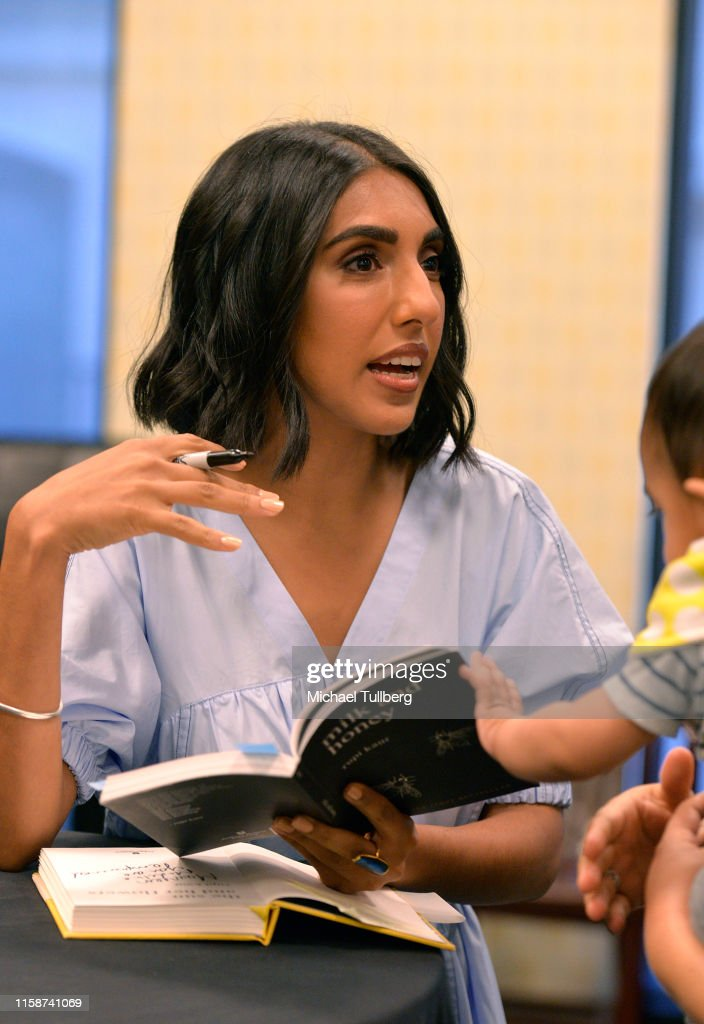 """Rupi Kaur Celebrates Her New Book """"The Sun And Her Flowers"""" : News Photo"""