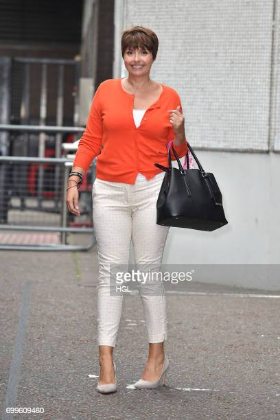 Author Sally Bee seen at the ITV Studios on June 22 2017 in London England