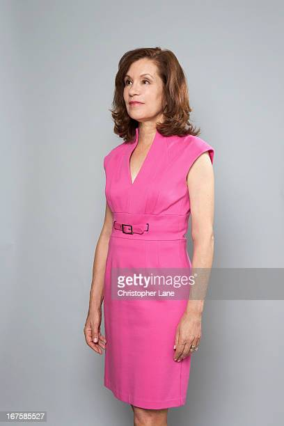 Author Sally Koslow is photographed for The London Times on June 29 2012 in New York City