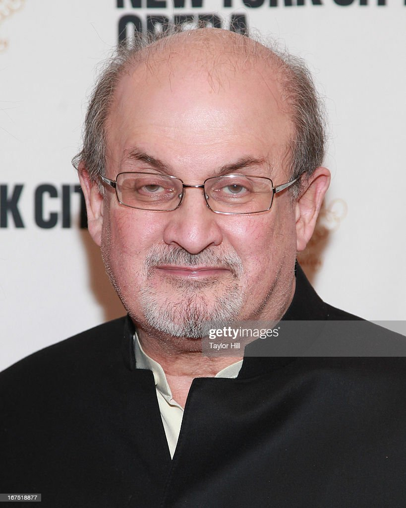 Author Salman Rushdie attends the 2013 New York City Opera Spring Gala at New York City Center on April 25, 2013 in New York City.