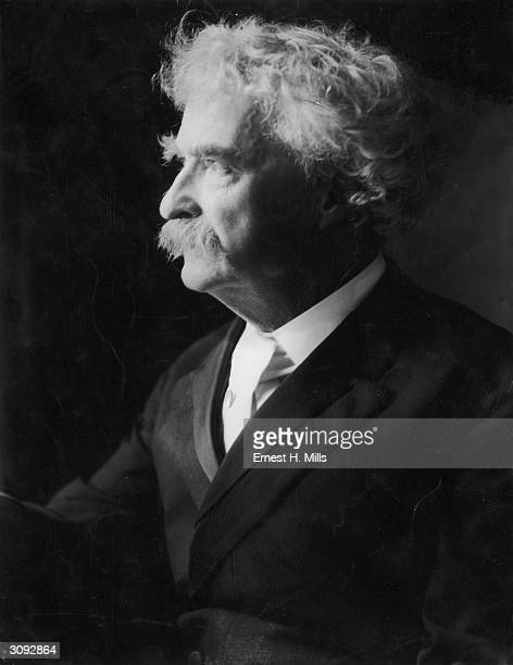 Author Samuel Langhorne Clemens who wrote under the name of Mark Twain