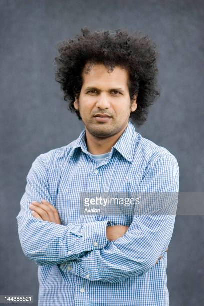 Author Sarfraz Manzoor,; Pictured during a visit to The Edinburgh International Book Festival. Edinburgh, UNESCO Inaugural City of Literature.;...