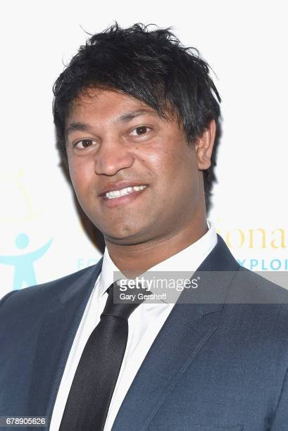 Author Saroo Brierley attends the International Centre for Missing and Exploited Children's 2017 Gala for Child Protection at Gotham Hall on May 4...