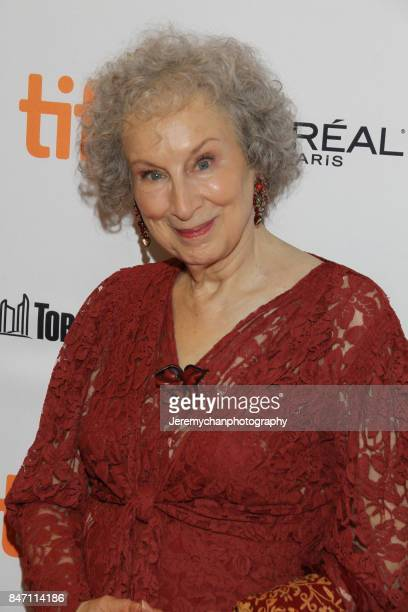 Author / screenwriter Margaret Atwood attends the Alias Grace Premiere held at Winter Garden Theatre during the 2017 Toronto International Film...