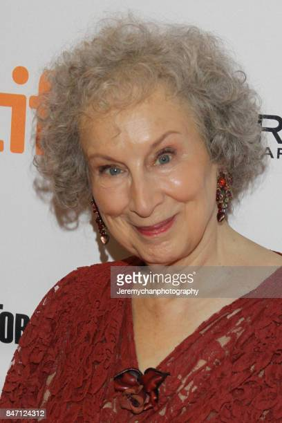 Author / screenwriter Margaret Atwood attends the 'Alias Grace' Premiere held at Winter Garden Theatre during the 2017 Toronto International Film...