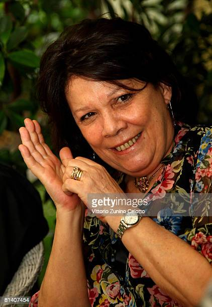 Author Serena Vitale attends the Gatti in Crisi D'Identita Book Launch held at Vivaio Sorelle Riva on June 04 2008 in Milan Italy