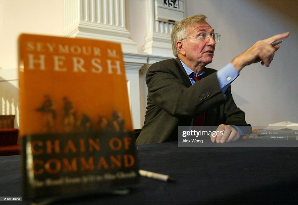 Seymour Hersh Promotes His Book Chain of Command : News Photo