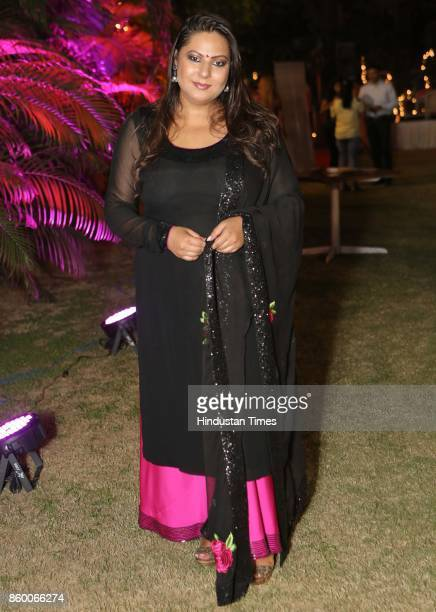Author Shabri Prasad Singh during the launch of the nonfiction book Borderline at the Lawns of Hotel Diplomat Chanakyapuri on October 6 2017 in New...