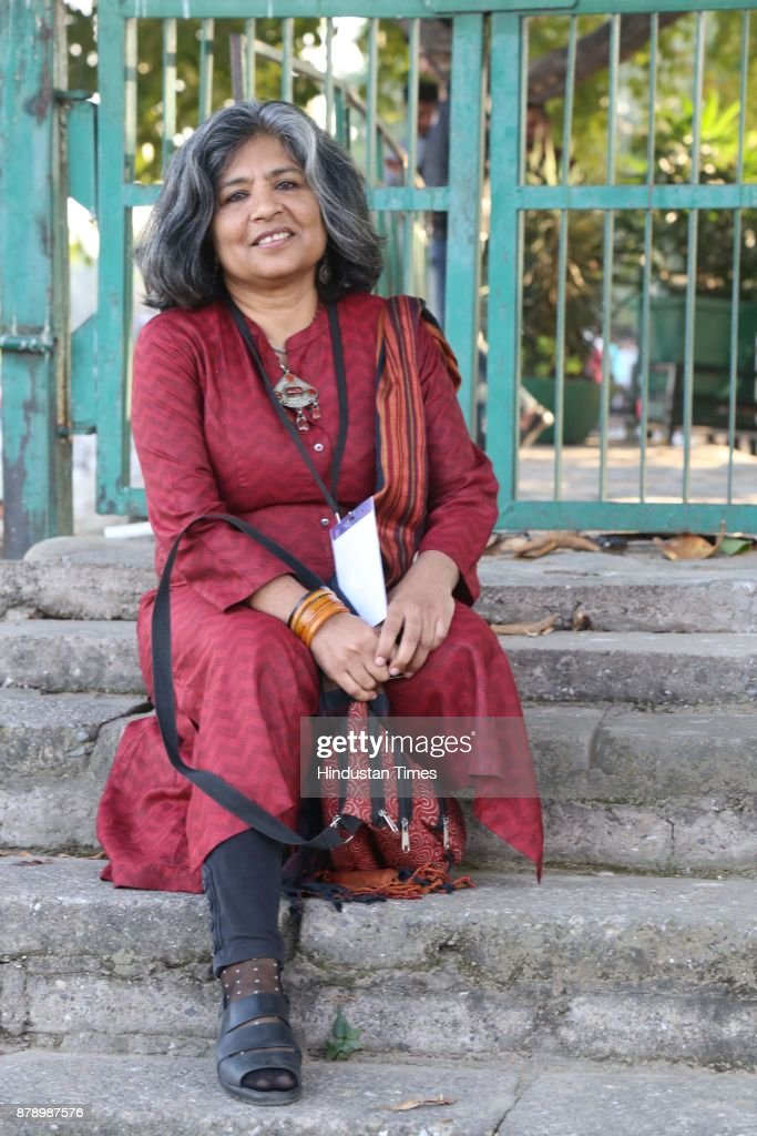 Author Sheela Reddy at Chandigarh Literature Festival 2017 at Lake Club on November 25 2017 in Chandigarh India