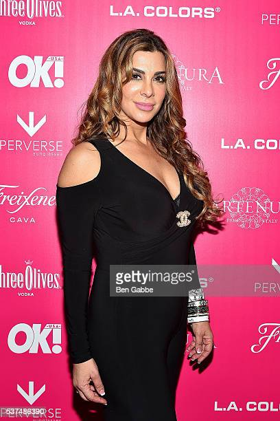 Author Siggy Flicker attends the 2016 OK Magazine So Sexy NY at TAO Downtown on June 1 2016 in New York City