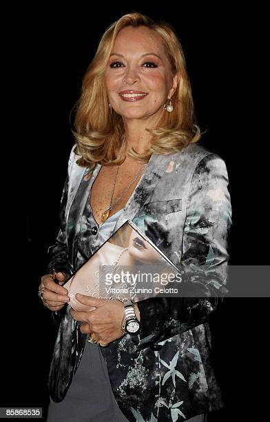 Author Silvana Giacobini poses during Silvana Giacobini Book Launch held at Spazio Krizia on April 8 2009 in Milan Italy