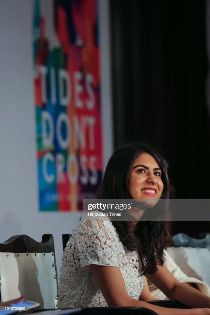 Author Simar Malhotra Launches Her Second Book Tides Dont Cross : News Photo