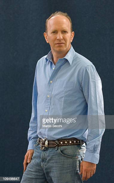 Author Simon Sebag Montefiore poses during a portrait session held at Edinburgh Book Festival on August 17 2007 in Edinburgh Scotland