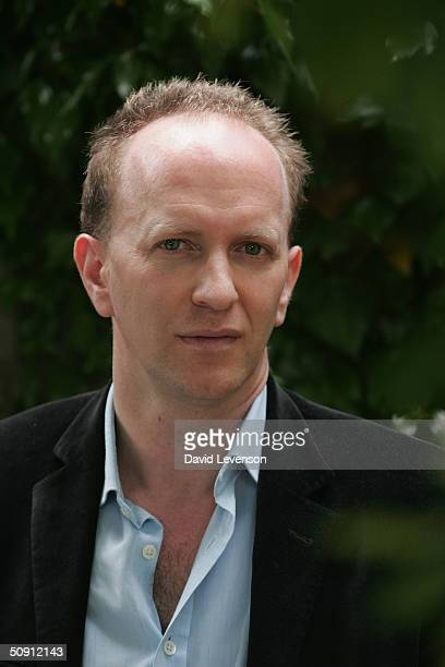 Author Simon Sebag Montefiore poses for a portrait at The Guardian Hay Festival 2004 held on May 30 2004 at Hay on Wye in Wales The festival runs...