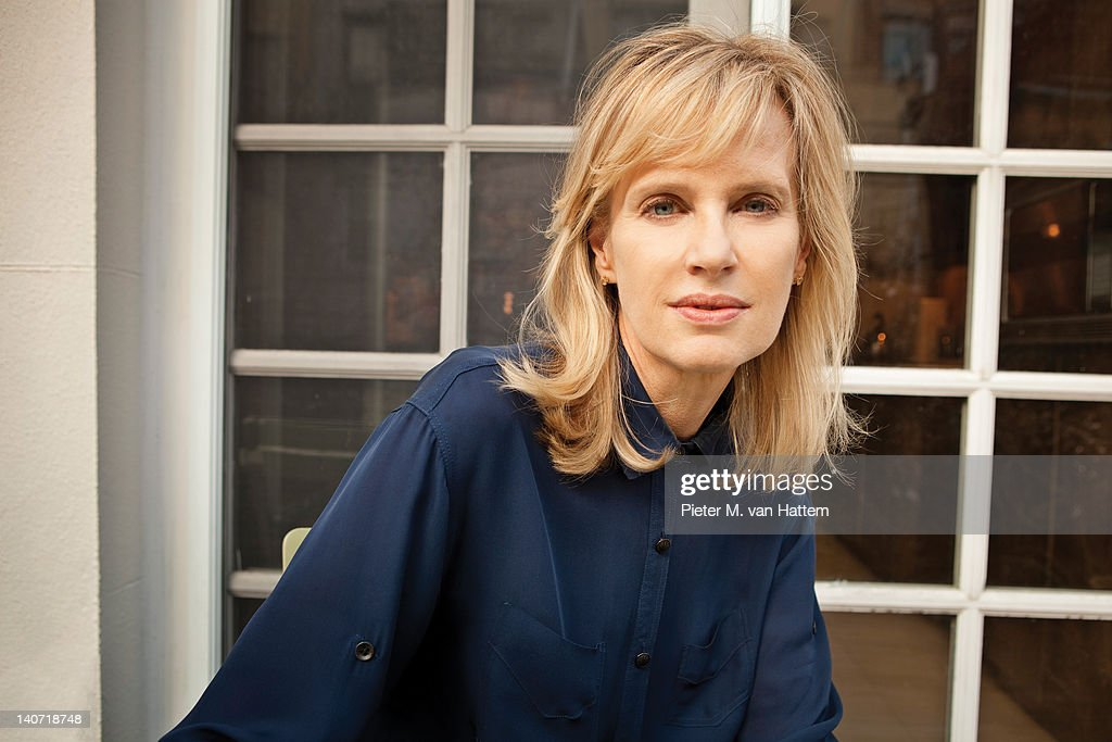Author Siri Hustvedt photographed for Poets & Writers on