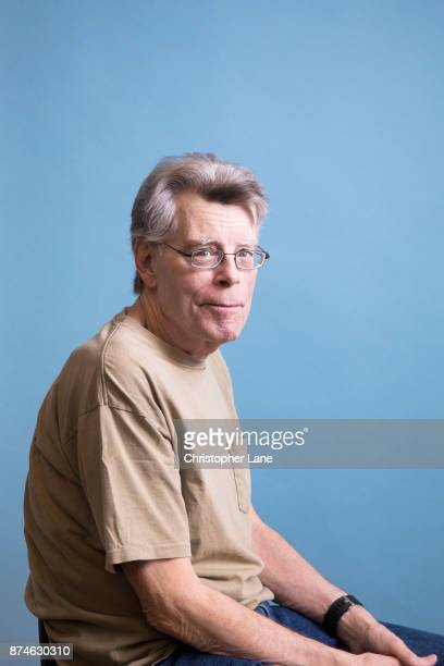 Author Stephen is photographed for The London Times on September 24 2017 in New York City