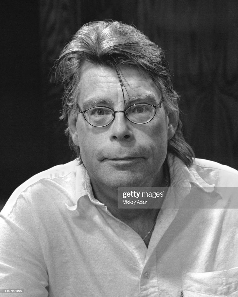 Author Stephen King poses at Dodd Hall on the campus of Florida State University in Tallahassee, Florida on February 26, 2006.