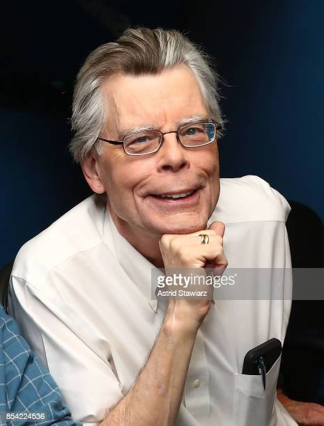 Author Stephen King visits the SiriusXM Studios on September 26, 2017 in New York City.