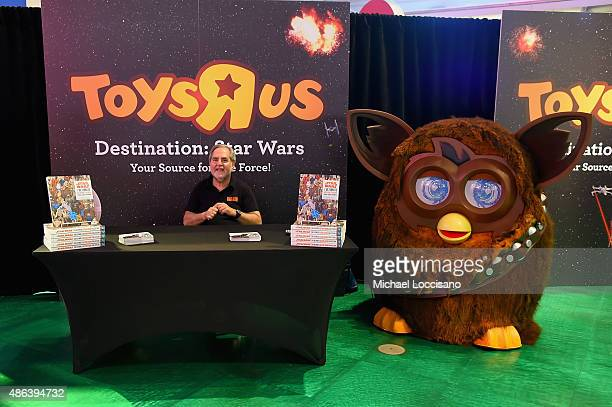 Author Steve Sansweet attends Toys'R'Us Force Friday With OutOfThisGalaxy Midnight Events on September 4 2015 in New York City