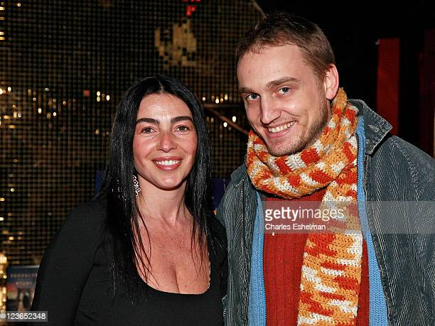 """Author Susanne Corso and actor Ben Curtis attend the """"Brooklyn Story"""" book release party at Juliet Supper Club on January 12, 2011 in New York City."""