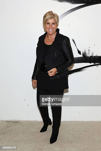Author Suze Orman attends AOL's BUILD Speaker Series In Conversation With Suze Orman at AOL Studios In New York on November 4 2014 in New York City