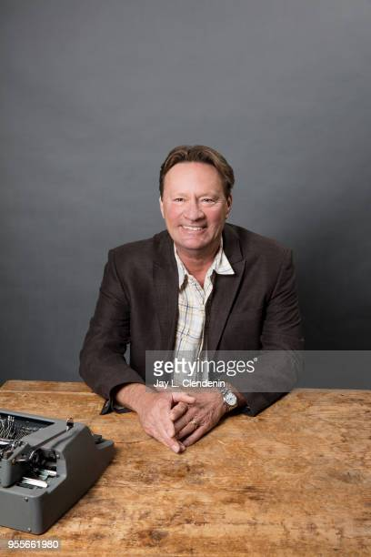 Author T Jefferson Parker is photographed for Los Angeles Times on April 21 2018 in the LA Times Studio at the Los Angeles Times Festival of Books at...