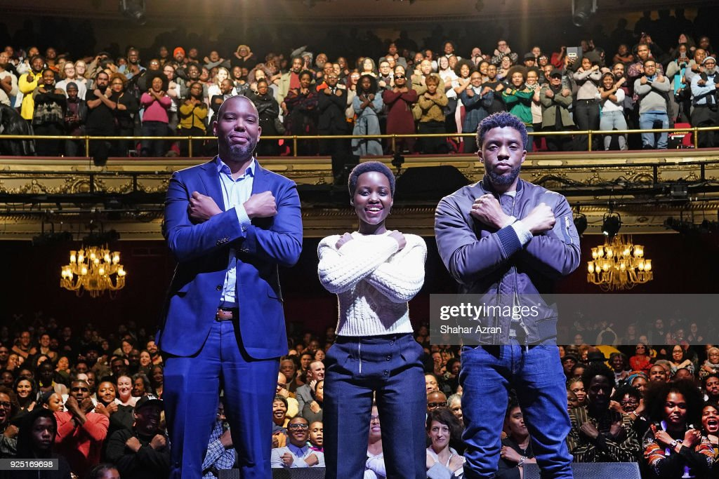 'Black Panther' Panel Discussion : News Photo