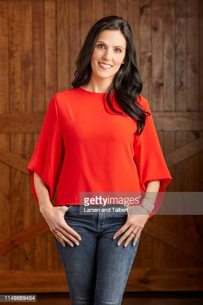 Author Taya Kyle is photographed for First For Women on February 21 2018 in Midlothian Texas