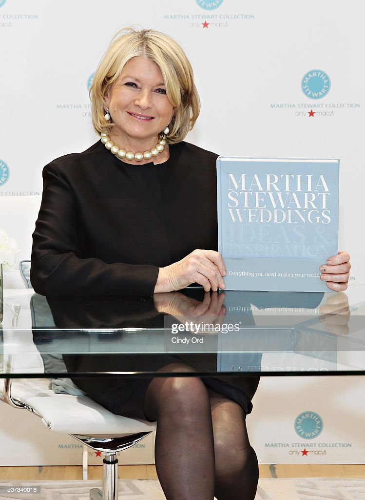 """MarthaStewart Weddings: Ideas And Inspiration!"" Book Launch"