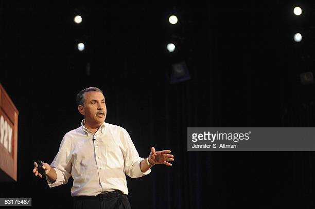 Author Thomas L Friedman is photographed at a reading and book signing at the 92nd Street Y in New York for the Los Angeles Times Published image