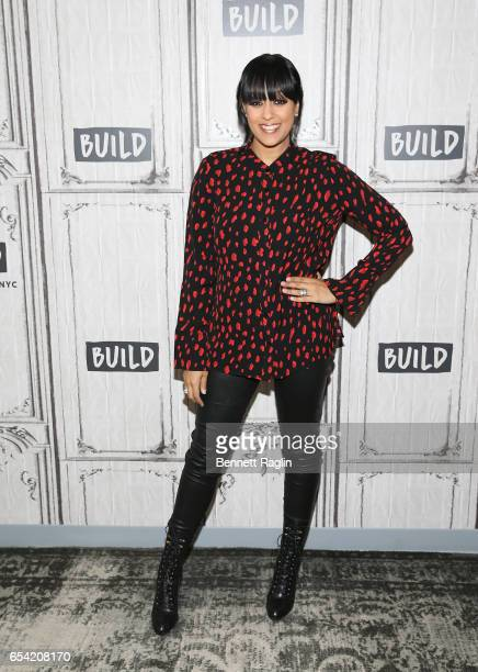Author Tia Mowry attends the Build Series at Build Studio on March 16 2017 in New York City