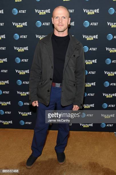 Author Tim Ferriss attends the Vulture Festival Opening Night Party Presented By ATT at the Top of The Standard Hotel on May 19 2017 in New York City