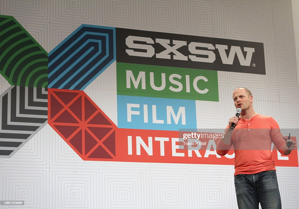 Author Tim Ferriss speaks onstage at 'How To Rock SXSW In 4 Hours' during the 2015 SXSW Music, Film + Interactive Festival at Austin Convention Center on March 13, 2015 in Austin, Texas.