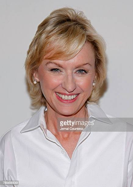 Author Tina Brown arrives at the 3rd Annual Quill Awards at Fredrick P Rose Hall at Jazz at Lincoln Center on October 22 2007 in New York City