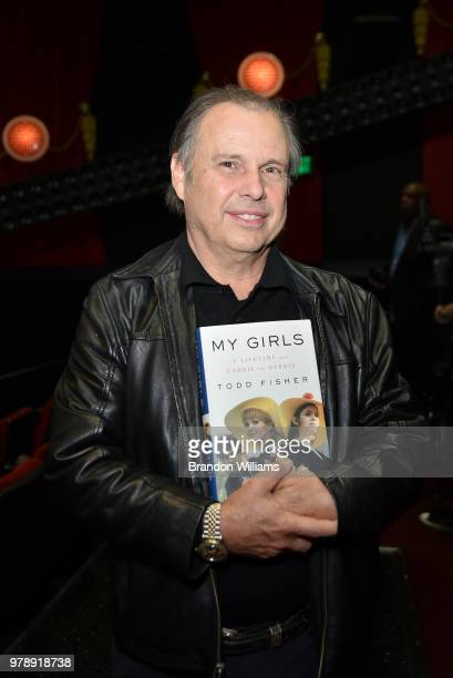 Actor Catherine Hickland and husband author Todd Fisher celebrate Todd Fisher's new book 'My Girls' at TCL Chinese 6 Theatres on June 19 2018 in...
