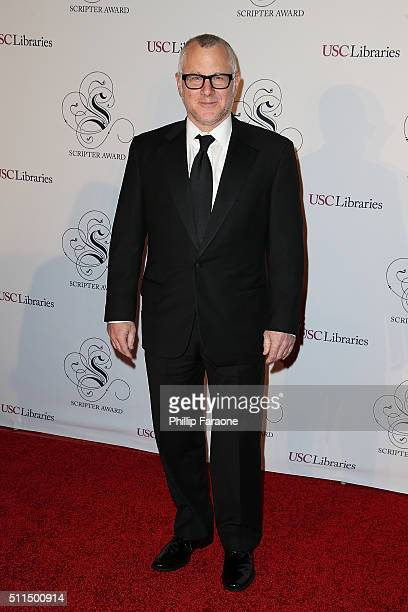 Author Tom Perrotta attends the USC Libraries 28th Annual Scripter Awards at Edward L Doheny Jr Memorial Library on February 20 2016 in Los Angeles...