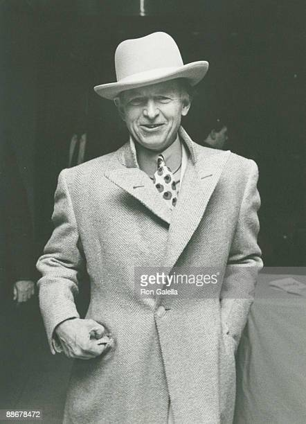 Author Tom Wolfe attending the premiere of 'Dangerous Liaisons' on December 19 1988 at the Museum of Modern Art in New York City New York