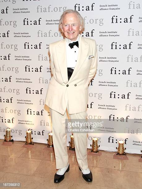 Author Tom Wolfe attends the 2012 Trophee Des Arts gala at The Plaza Hotel on November 30 2012 in New York City