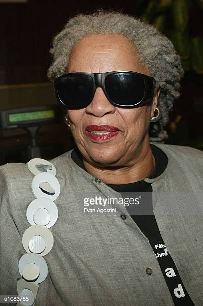 Author Toni Morrison arrives at the world premiere for The Manchurian Candidate on July 19 2004 at the Beekman Theatre in New York City