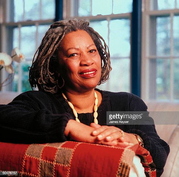 Author Toni Morrison at home