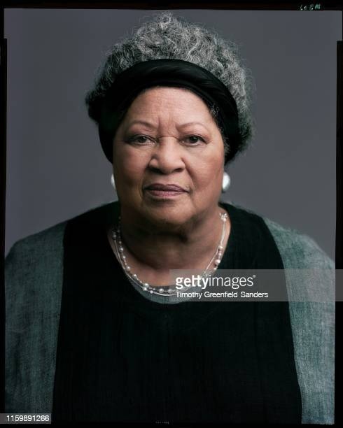 Author Toni Morrison is photographed for 'Toni Morrison: The Pieces I Am' in New York City.