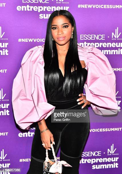 Author Toya Wright attends ESSENCE + New Voices Entrepreneur Summit And Target Holiday Market at West End Production Park on December 14, 2019 in...