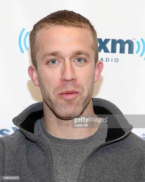 """Author Tucker Max promotes the book """"Hilarity Ensues"""" at SiriusXM Studios on February 8, 2012 in New York City."""