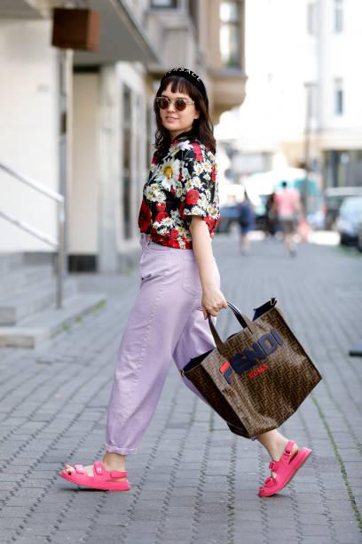 DEU: Street Style - Berlin - July 5, 2020