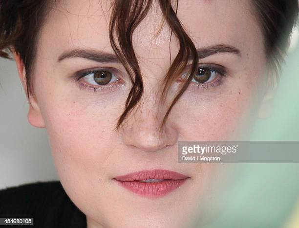 Author Veronica Roth attends the 19th Annual Los Angeles Times Festival of Books Day 2 at USC on April 13 2014 in Los Angeles California