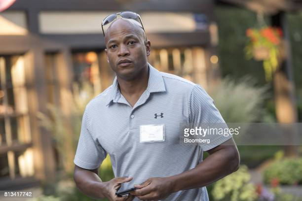 Author Wes Moore arrives for a morning session during the Allen Co Media and Technology conference in Sun Valley Idaho US on Wednesday July 12 2017...
