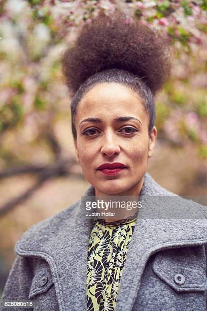 Author Zadie Smith is photographed for Elle Magazine UK on April 9 2016 in New York City